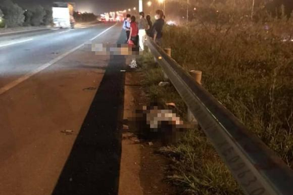 tai nạn giao thông, tai nạn cao tốc bắc giang, tai nạn chết người