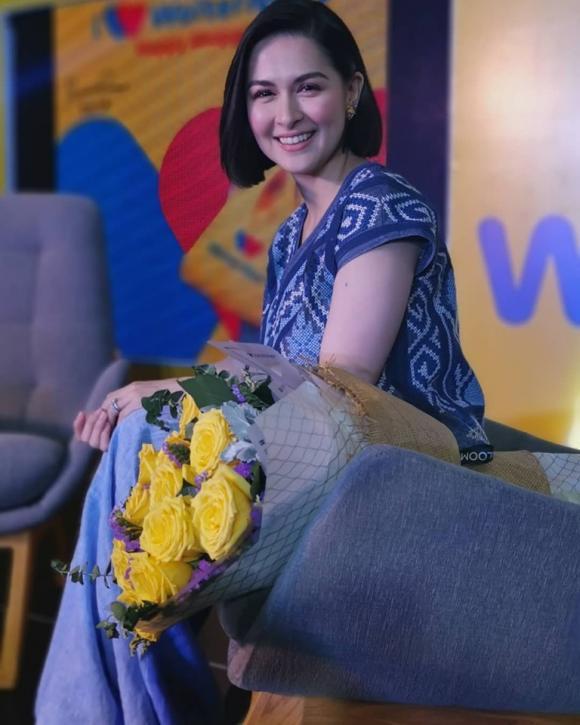 marian rivera, quần ống rộng, ăn gian chiều cao, mỹ nhân đẹp nhất philippines