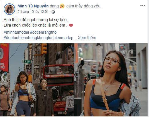 Minh Tú, siêu mẫu, sao Việt