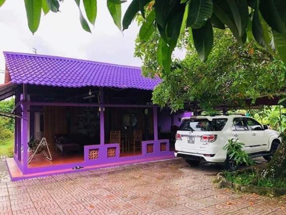 nhà màu tím, căn nhà mộng ước, mạng xã hội