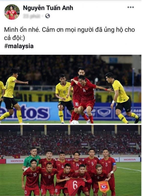 Tuấn Anh, đội tuyển việt nam, vòng loại world cup 2022, Malaysia
