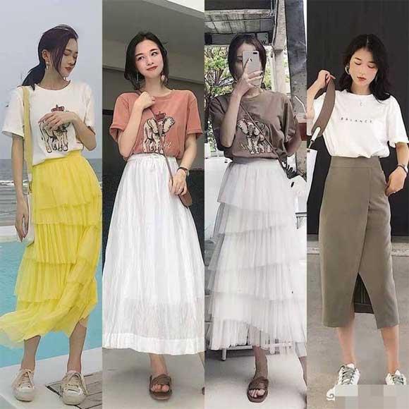 trang phục, thời trang thu, áo phông