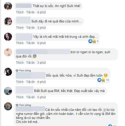 ca sĩ  Sulli qua đời,  Sulli, sao Hàn