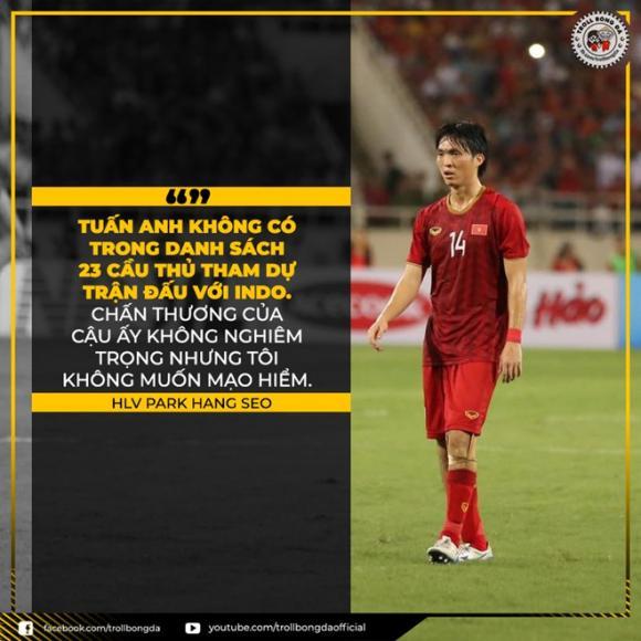 Việt Nam,  Indonesia, ảnh chế, vòng loại World Cup 2022,  HLV Park Hang-seo