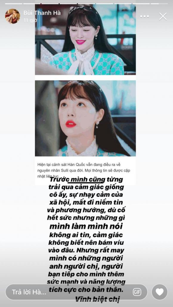 Trâm Anh, Sulli, hot girl Việt