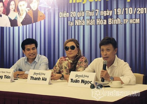 danh ca Thanh Hà, danh ca Tuấn Ngọc, sao Việt