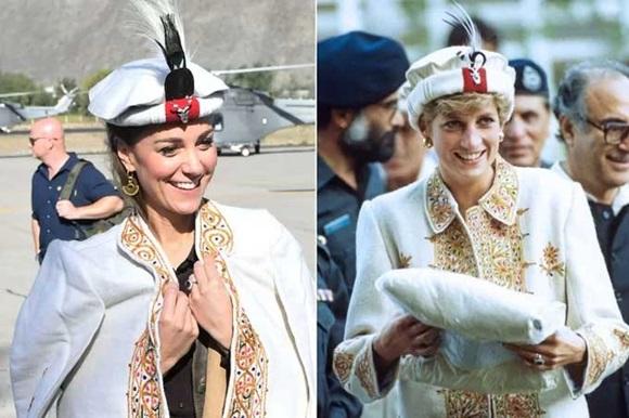 Kate Middleton, Công nương Diana, Hoàng gia Anh