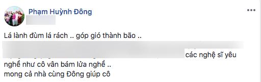 Hồ Bích Trâm, nghệ sĩ Diễm Trinh, sao Việt