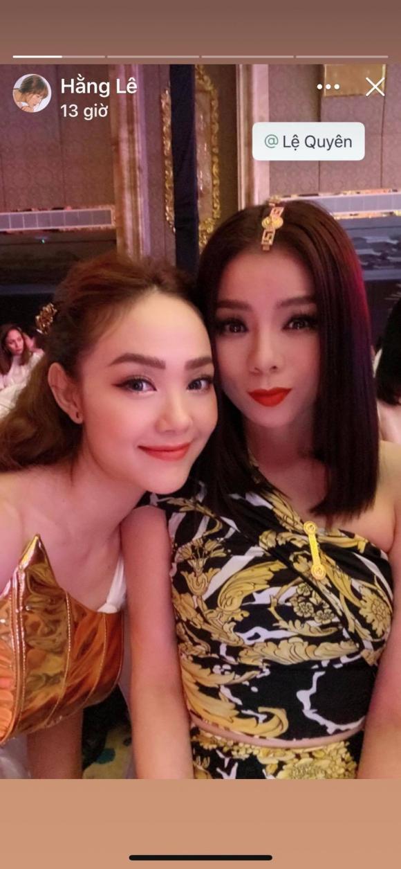 Minh Hằng, Lệ Quyên, sao Việt,  Hồ Ngọc Hà