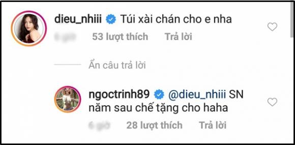 Diệu Nhi, Ngọc Trinh, Diễm My 9X, sao Việt