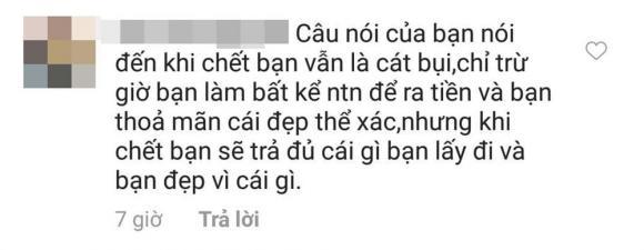 Ngọc Trinh, phát ngôn của Ngọc Trinh, sao Việt