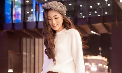 mũ beret, mũ nồi, thời trang đông, phong cách quý tộc