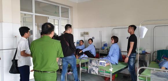 nữ phụ xe bị đánh, nữ nhân viên, phụ xe buýt,  Công an huyện Ứng Hoà