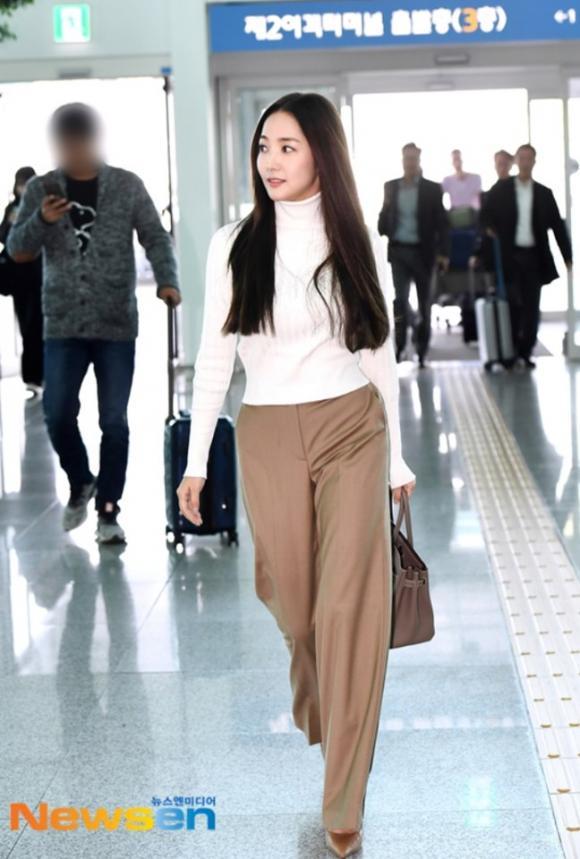 park min young, thời trang sân bay, thư ký kim sao thế, sao hàn