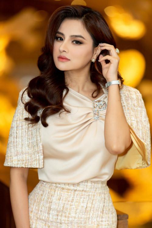 siêu mẫu, Vũ Thu Phương, Hoa hậu Hoàn vũ Việt Nam 2019, sao Việt
