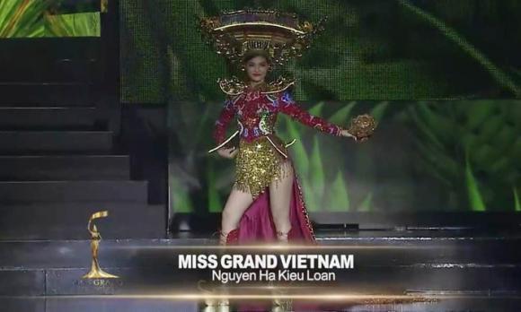 Kiều Loan, Miss Grand International 2019, hoa hậu Hoà bình