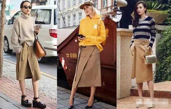 thời trang thu, thời trang mùa thu, màu camel