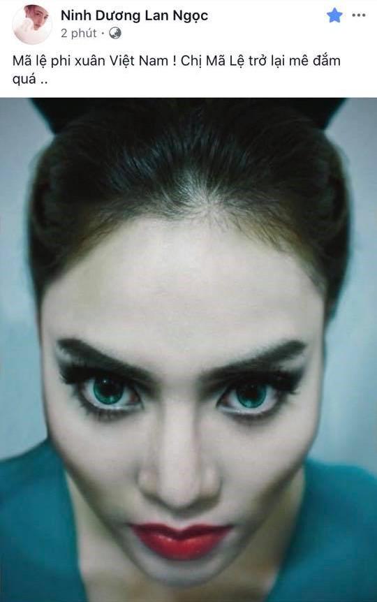 dien vien lan ngọc, Maleficent, sao Việt