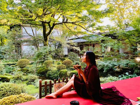 Đoan Trang, Đoan Trang du lịch Nhật Bản, sao việt