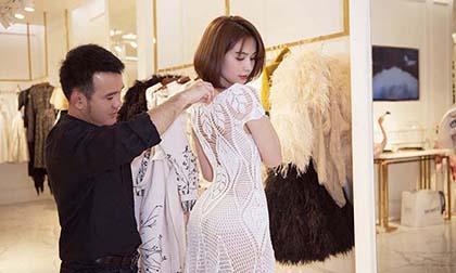Nữ hoàng nội y ngọc trinh, hoa hậu Kỳ Duyên, siêu mẫu Minh Triệu, sao Việt, NTK Lê Thanh Hoà