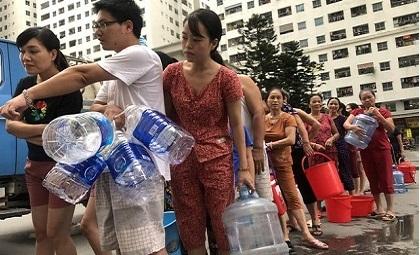 Nguyễn Văn Tốn, nước sạch sông đà, nước sông đà bị nhiễm bẩn