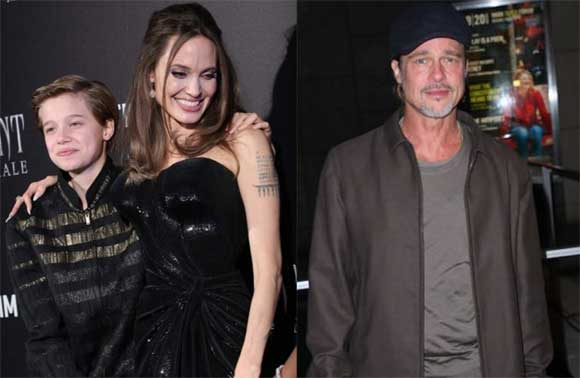 Angelina Jolie, Shiloh, Brad Pitt, sao Hollywood