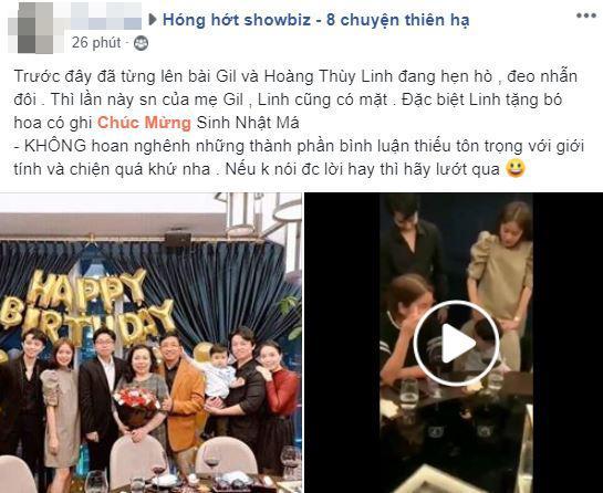Hoàng Thùy Linh, Gil Lê, sao việt