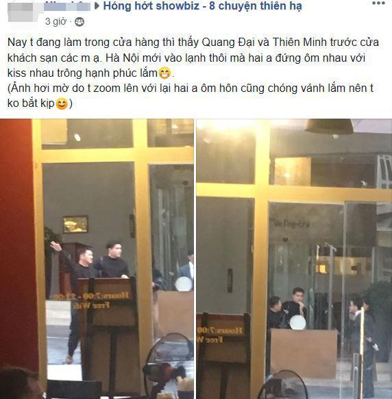 Quang Đại, Thiên Minh, sao việt