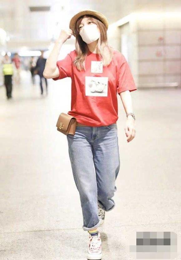Triệu Vy, sao Hoa ngữ, street style của Triệu Vy