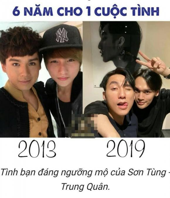 Sơn Tùng, Nguyễn Trần Trung Quân, sao việt