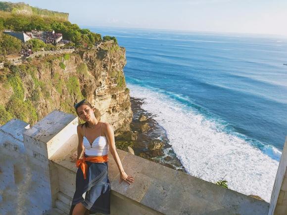 Cao Thiên Trang cùng Quang Vinh đi du lịch Bali