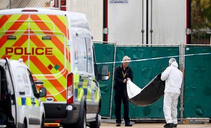 39 thi thể người Việt trong container, 39 người việt tử vong ở Anh, tin xã hội