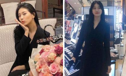 Suzy,Ivanka Trump,sao Hàn,Suzy đụng hàng Ivanka Trump