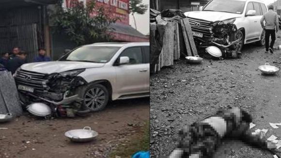 tai nạn giao thông, Lexus biển 77777, Hà Nội