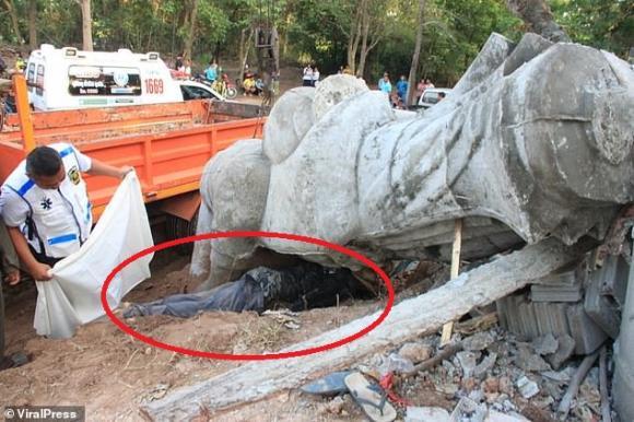 tượng Phật, Thái Lan, tai nạn