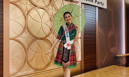 Tường San, trang phục dân tộc Tường San, Hoa hậu Quốc tế