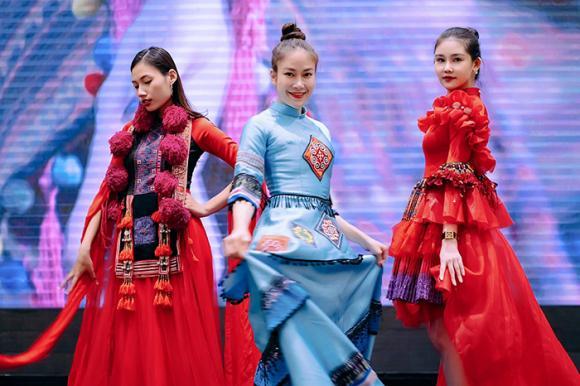 hoa hậu Lê Âu Ngân Anh, người mẫu Mai Ngô, hoa hậu Tuyết Nga, sao Việt
