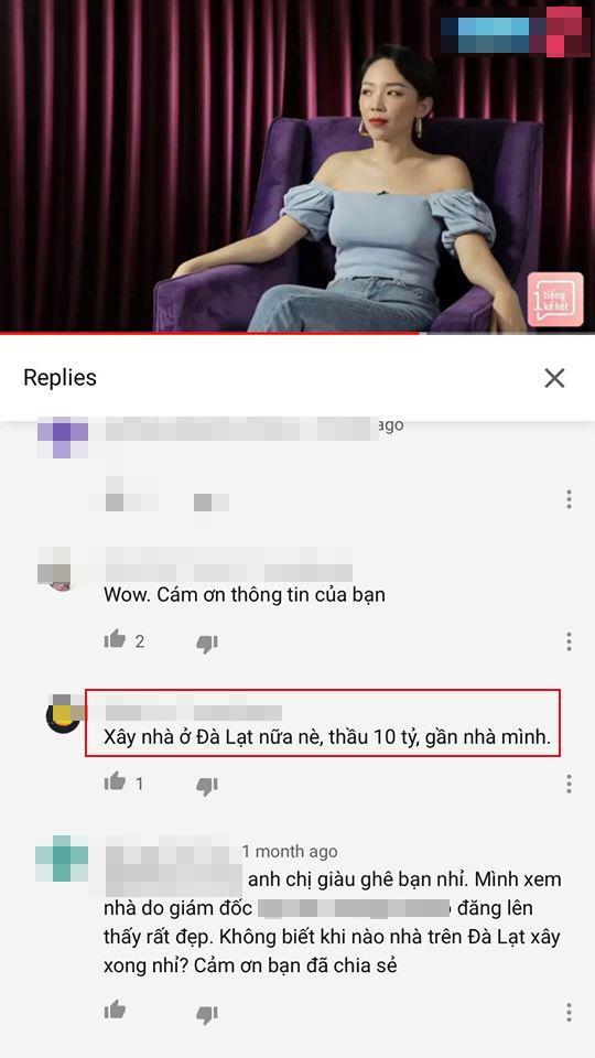 Tóc Tiên, nhà Tóc Tiên, sao việt
