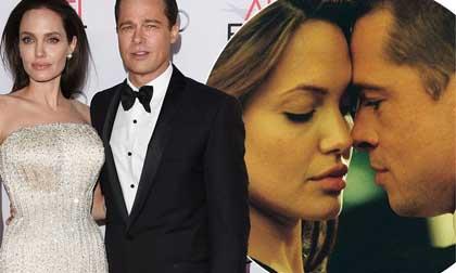 brad pitt, hẹn hò, angelina jolie, ly hôn, sao hollywood