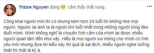 vợ cũ Bằng Kiều, Trizzie Phương Trinh, sao Việt