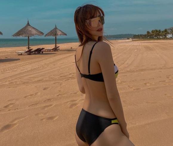 Đông Nhi, Minh Hằng, Minh Hằng bikini
