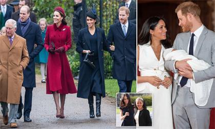 Meghan Markle,Kate Middleton,Hoàng gia Anh