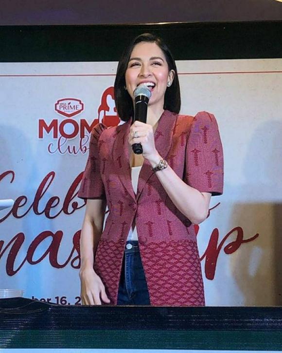 marian rivera, mỹ nhân đẹp nhất philippines, áo vai nhọn