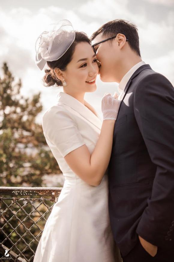 Thu Hà, ảnh cưới btv Thu Hà, sao việt