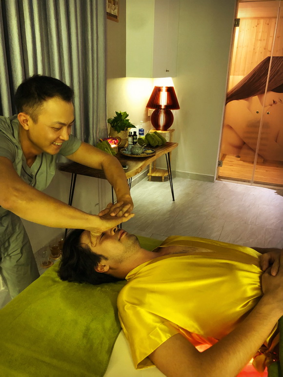 Amber Spa & Beauty, massage thư giãn, bấm huyệt