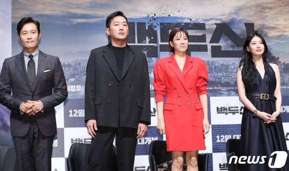 suzy, baekdu mountain, phim bom tấn, phim hàn
