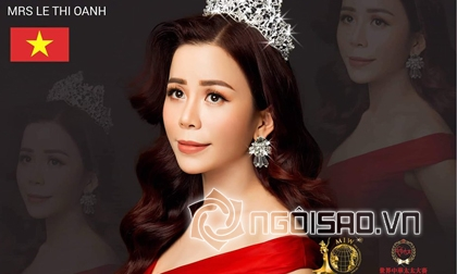 Á hậu Oanh Lê, Mrs International World 2019