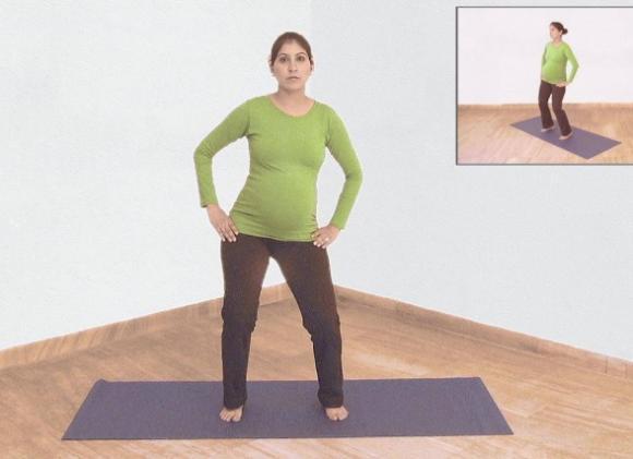 bài tập tốt cho bà bầu, những điều bà bầu cần biết, những bài tập yoga tốt cho bà bầu trong 3 tháng cuối