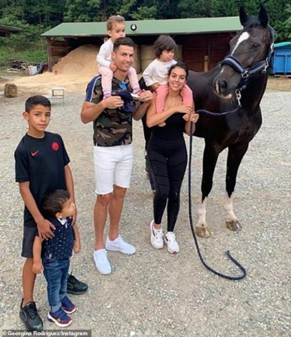 Cristiano Ronaldo,Georgina Rodríguez, sao Hollywood