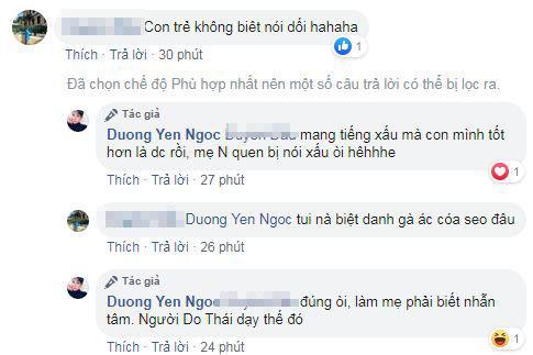 Dương Yến Ngọc, con Dương Yến Ngọc, sao Việt